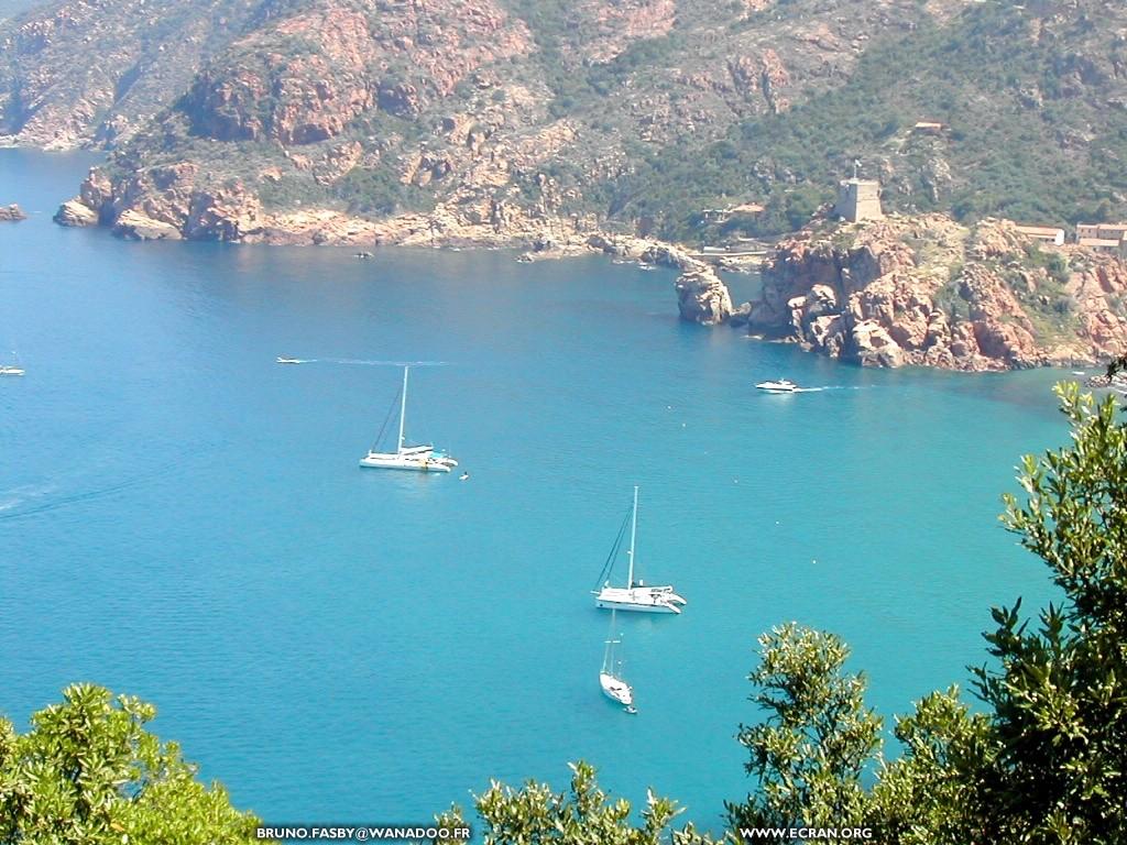 Fond d'écran de La Corse en fonds d'écran - Ajaccio - Porto - Piana ...