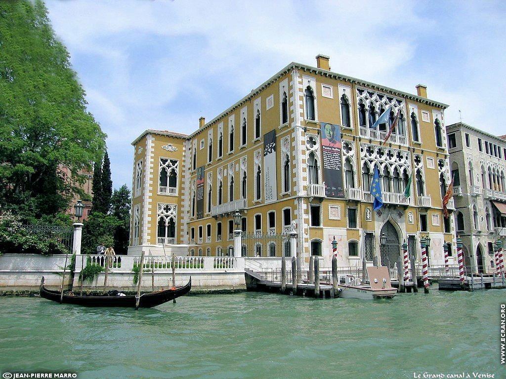 Fond d'écran de Italie Venise le grand canal par Jean-Pierre Marro 0003