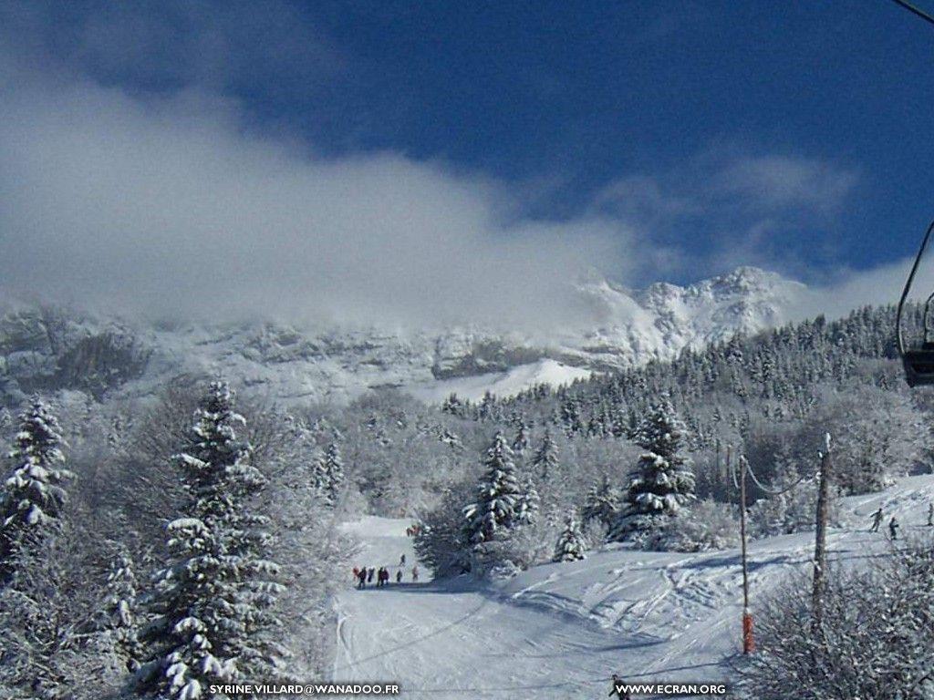 Fond d'écran de montagne-neige-vercors-villard-de-lans par Syrine De ...