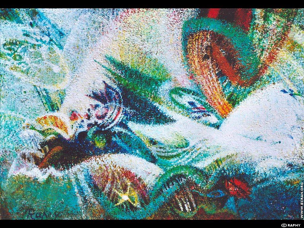 Fond D Ecran De Peintre Francais Peinture A L Huile Par Raphy 0002