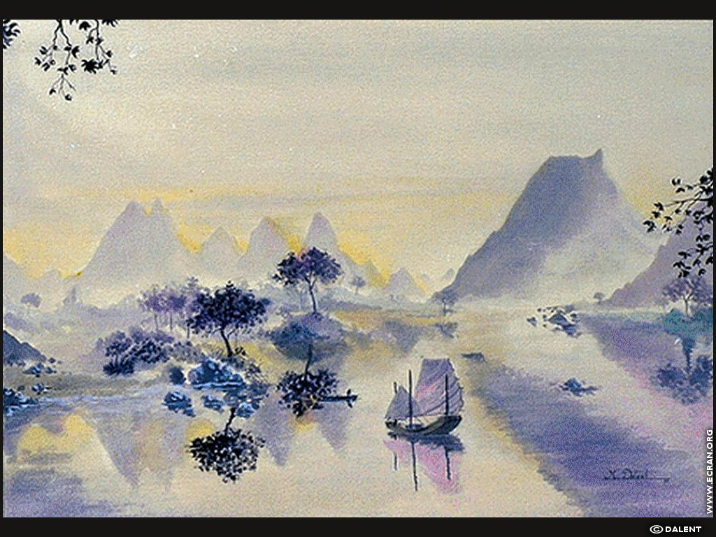 peinture aquarelle modele so69