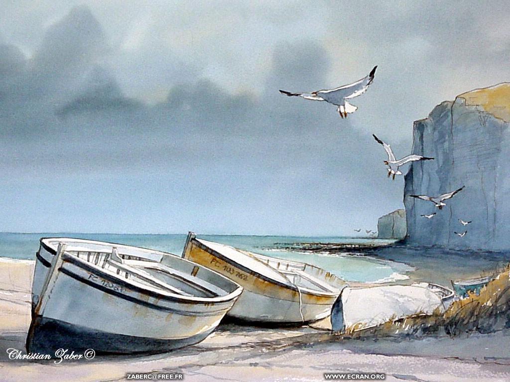 ... de Christian Zaber - La Normandie en fond d'écran & en couleur - de