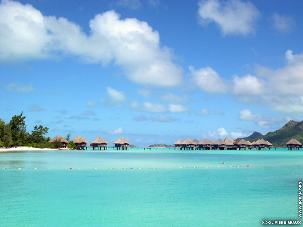 fonds d écran Polynesie Francaise Bora Bora Mai Te Pora Teavanui - de ...