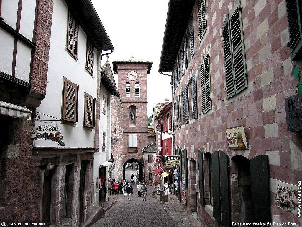 Fond d 39 cran de saint jean pied de port pays basque par jean pierre marro 0002 - Sud ouest saint jean pied de port ...