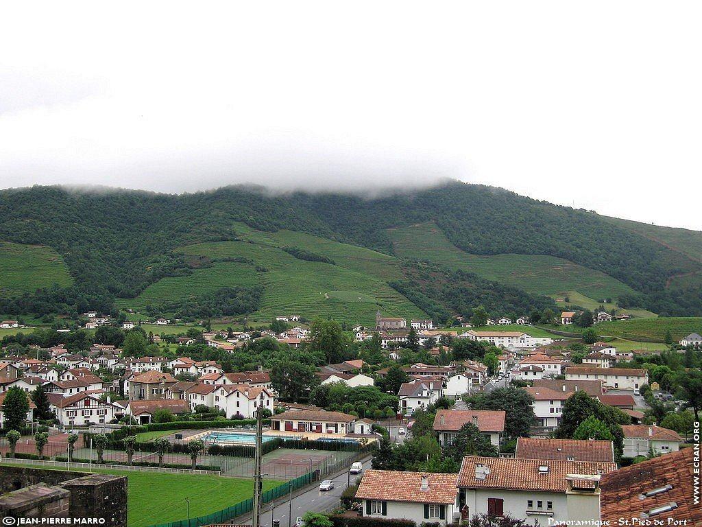 Fond d 39 cran de saint jean pied de port pays basque par jean pierre marro 0005 - Sud ouest saint jean pied de port ...